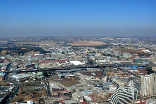 Veduta dal Top of Africa