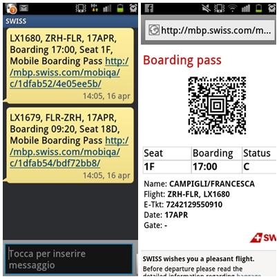Mobile Web Check-in