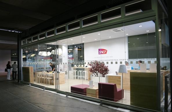 Boutique SNCF a Milano