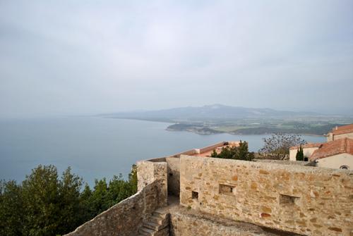 Vista dal Castello di Populonia