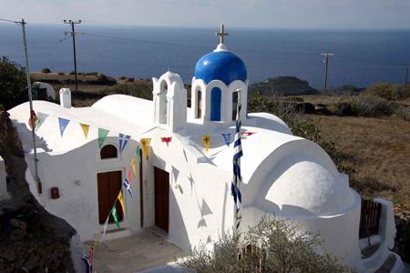 Tipica chiesetta dell'isola