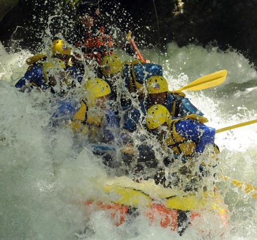 Rafting alla Cascata