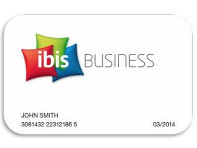 Ibis Business Card