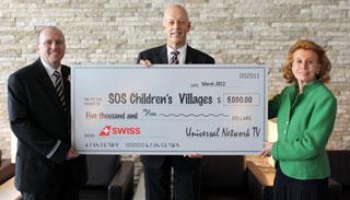 Donazione da parte di Swiss