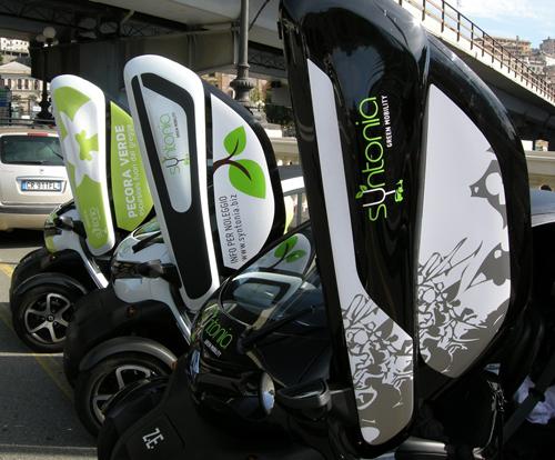 Auto elettriche Pecora Verde