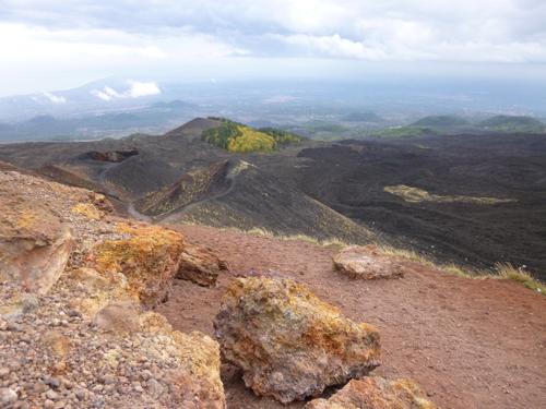 Vista dall'Etna