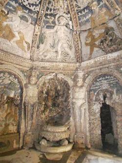 Le pareti della Grotta