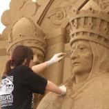 Sabbia e sculture a Jesolo