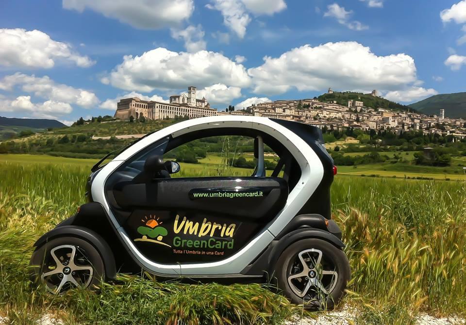 In viaggio con l'automobile elettrica