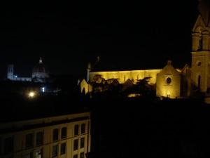Vista dalla camera dell'Hotel Plaza Lucchesi