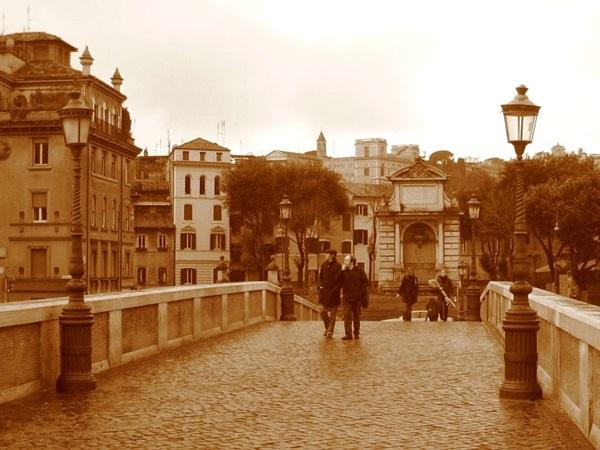 Ponte Sisto e Piazza Trilussa