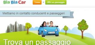 Hai bisogno di un passaggio in auto? Sali a bordo delle BlaBlaCar