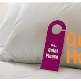 Troppo rumore nella tua camera d'albergo? E' in arrivo la certificazione del silenzio!