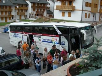Riparte il servizio Dolomiti Ski shuttle