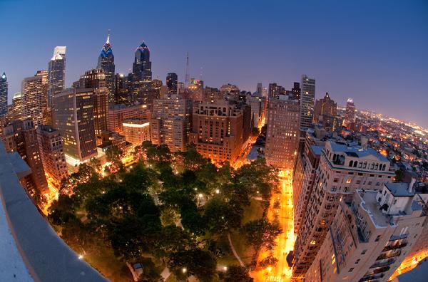 Philadelfia skyline