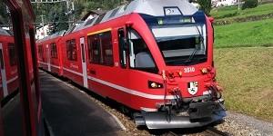 Trenino Rosso del Bernina, tra Italia e Svizzera