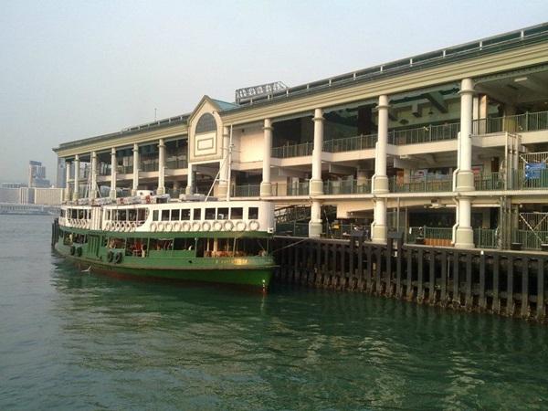 Attracco del ferry