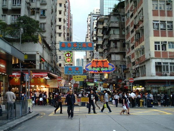 le strade di mong kok