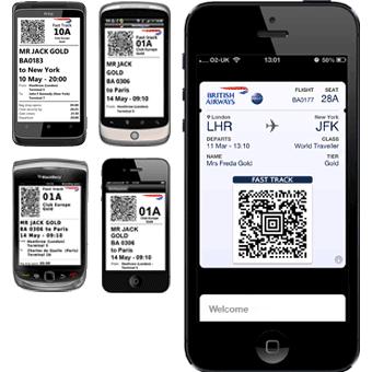 Boarding Pass British Airways