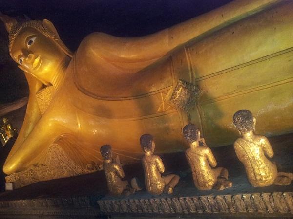 Buddah al Tempio delle scimmie