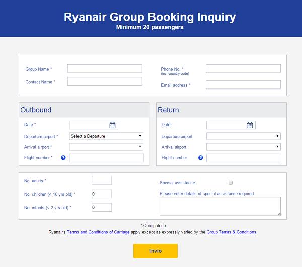 Modulo Booking