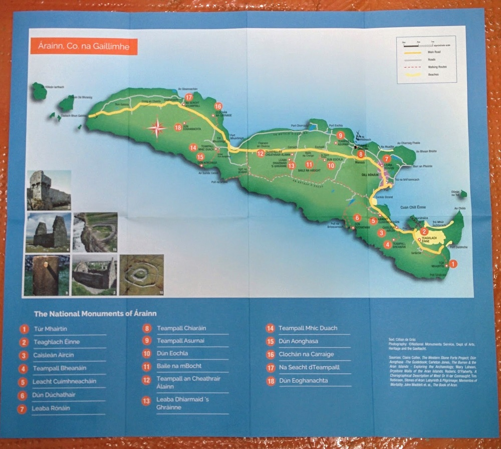 The National Monuments of Arainn - Map and Guide