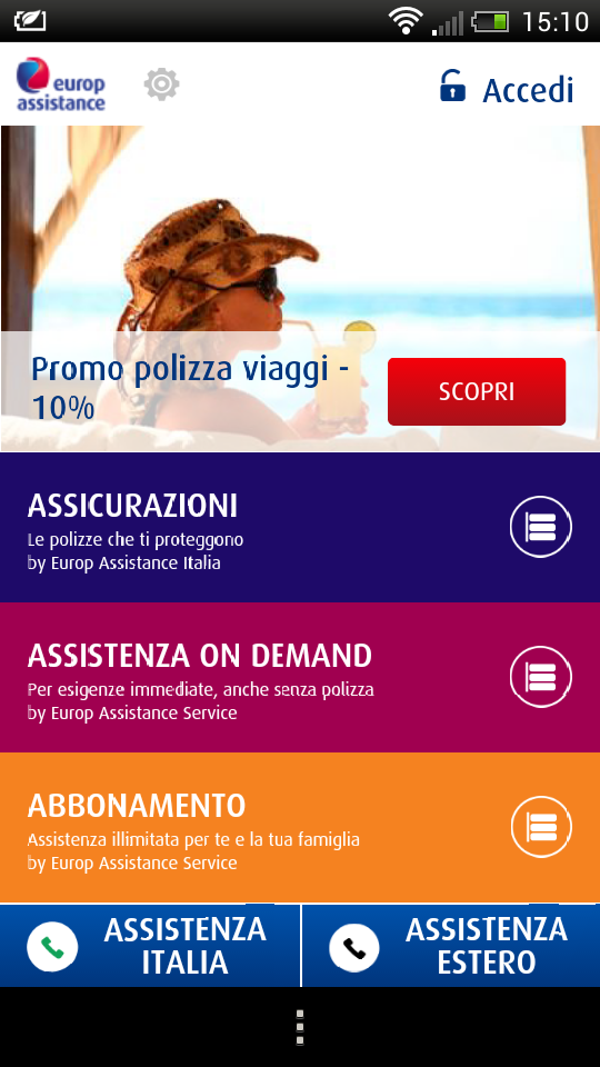 app Europ Assistance 1