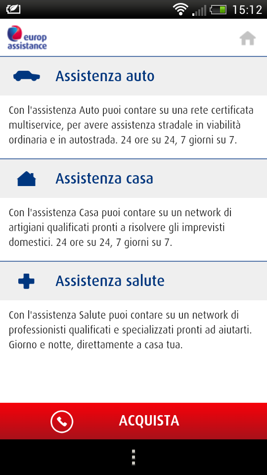 app Europ Assistance 2