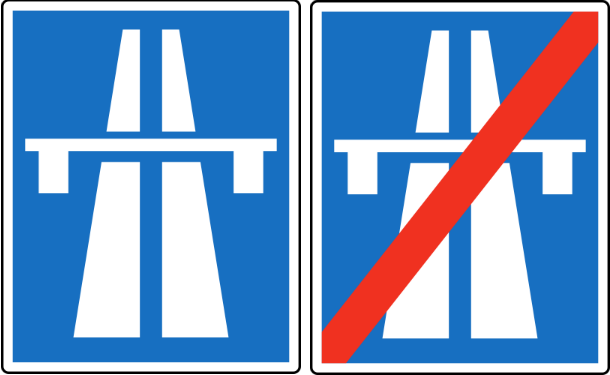 Cartelli Autostrada Austria
