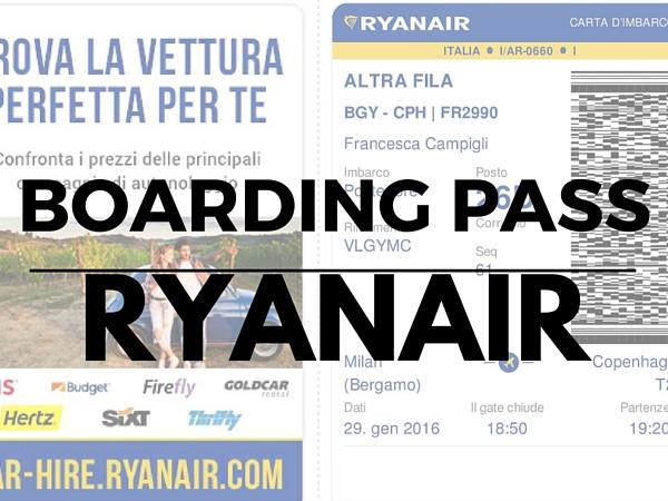La Carta Di Imbarco Ryanair
