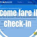 Come fare il check-in Ryanair