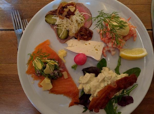 Piatto degustazione Nyhavns Faergerkro