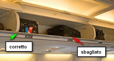 Cappelliera in aereo
