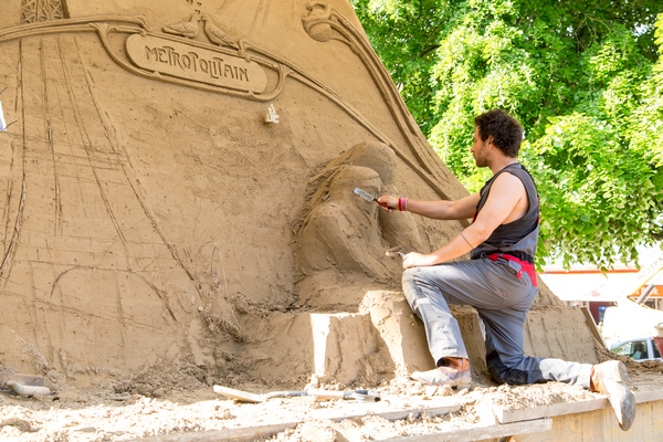 Parigi - Sculture di sabbia 2016
