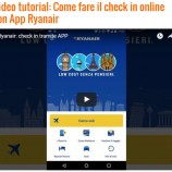 Come fare il check in online con App Ryanair