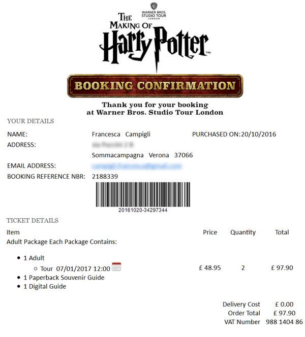 In Cerca Di Magia Visita Agli Studios Di Harry Potter A