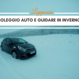 Guidare in Lapponia in inverno