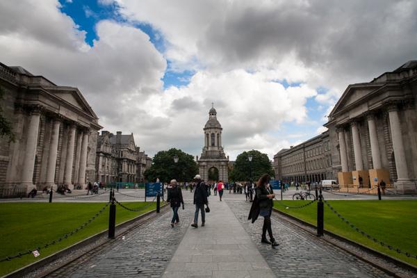 Cosa vedere a Dublino gratis - Trinity College