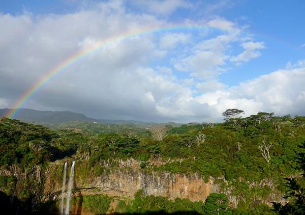 Visitare Mauritius - Cascata Terres de 7 couleurs