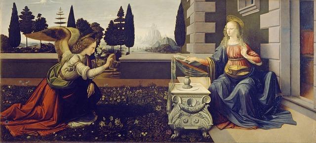 opere d'arte a Firenze - Annunciazione