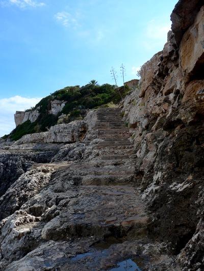 Spiagge di Maiorca - scalette di Cala Figuera