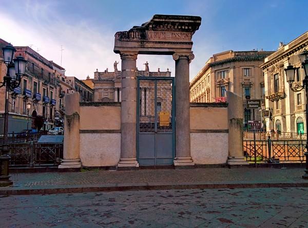 Cosa vedere a Catania - Anfiteatro Romano