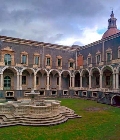Cosa vedere a Catania - Monastero dei benedettini