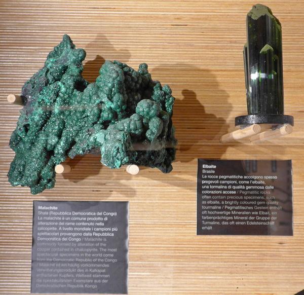 Museo Geologico delle Dolomiti - minerali