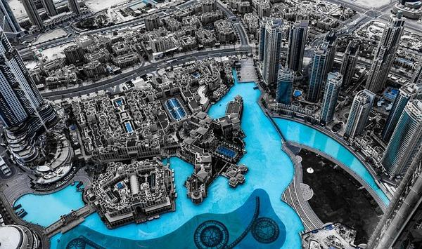 Vacanze a Dubai - vista dal Burj Khalifa