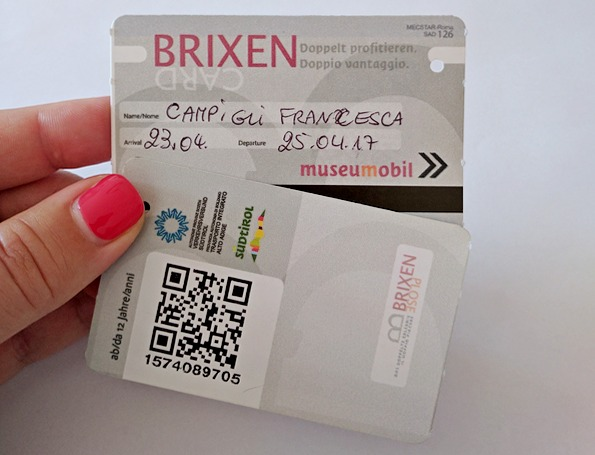 Brixen Card