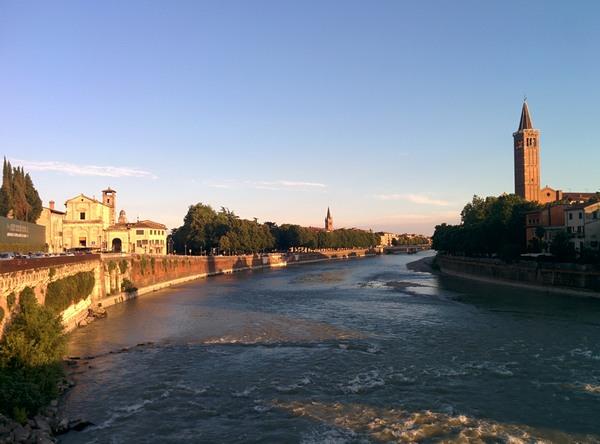 Cosa vedere a Verona - vista da Ponte Pietra