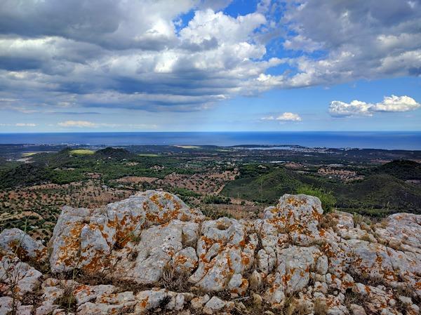 Vacanze a Maiorca - vista dal Castell de Santueri