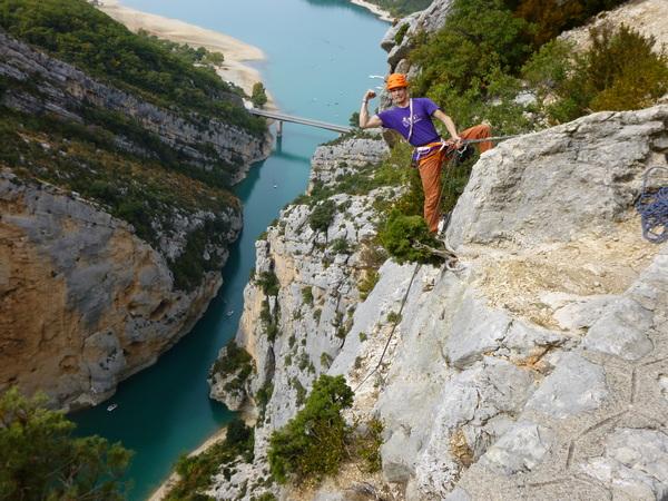viaggio in Provenza - lago di Castillon