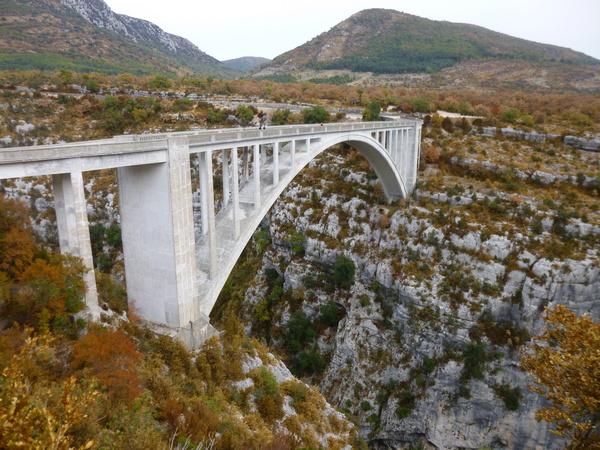 viaggio in Provenza - ponte de L'Artuby